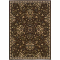 Hudson Green Beige Oriental Persian Transitional Rug - Free Shipping