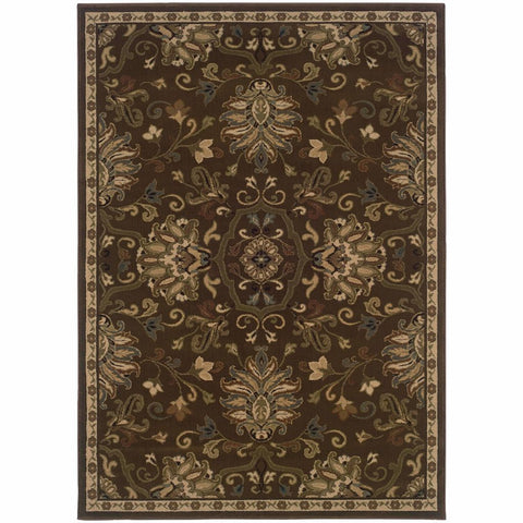 Oriental Weavers Hudson Green Beige Oriental Persian Transitional Rug