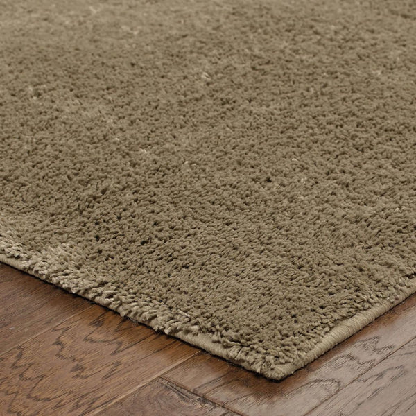 Woven - Impressions Beige  Solid  Contemporary Rug
