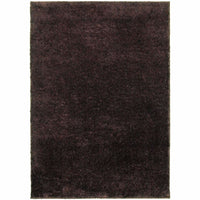 Impressions Brown  Solid  Contemporary Rug - Free Shipping