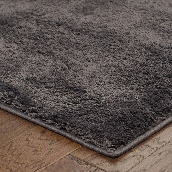 Woven - Impressions Grey  Solid  Contemporary Rug