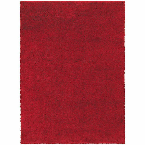 Oriental Weavers Impressions Red  Solid  Contemporary Rug