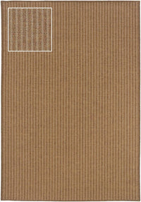 Woven - Karavia Tan Light Tan Stripe  Outdoor Rug