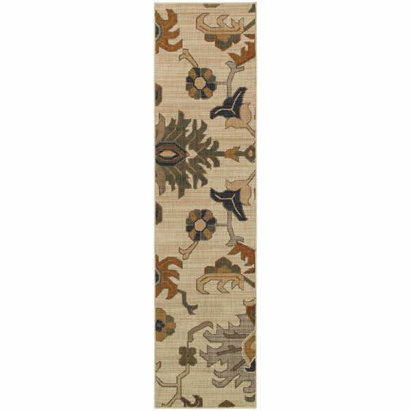 Woven - Kasbah Ivory Grey Tribal  Transitional Rug