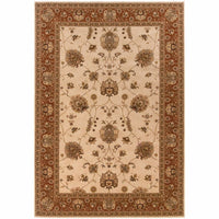 Oriental Weavers Knightsbridge Ivory Red Oriental Persian Traditional Rug