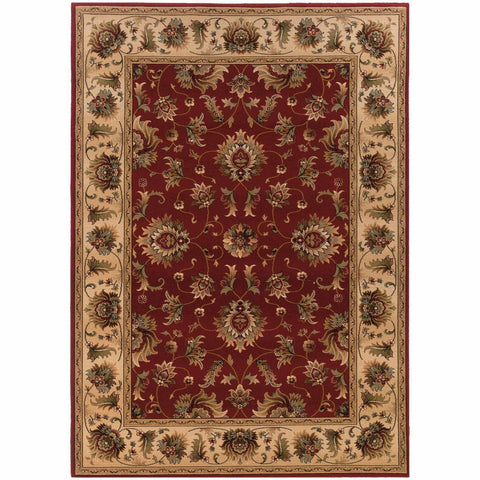 Oriental Weavers Knightsbridge Red Beige Oriental Persian Traditional Rug