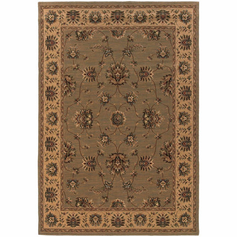 Oriental Weavers Knightsbridge Tan Beige Oriental Persian Traditional Rug
