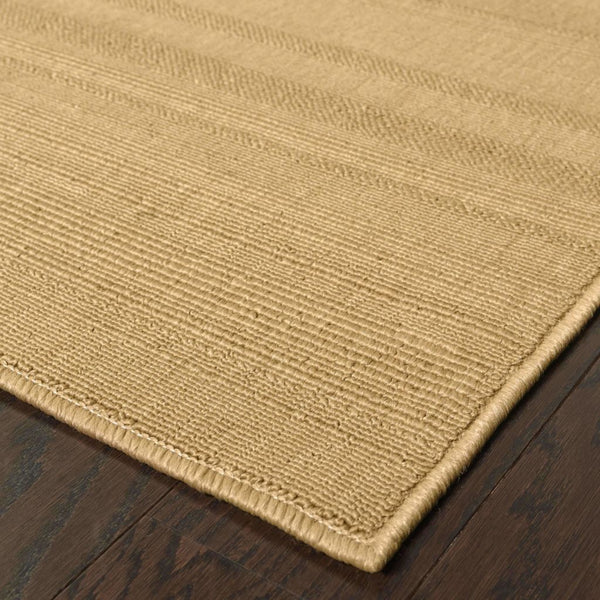 Woven - Lanai Beige  Solid  Outdoor Rug