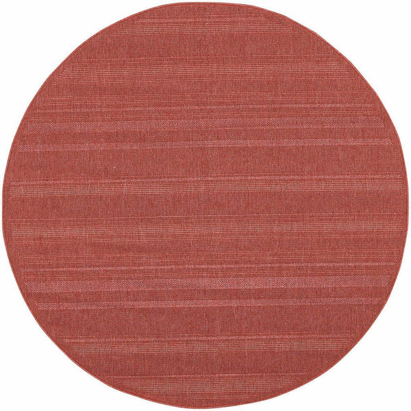 Woven - Lanai Red  Solid  Outdoor Rug