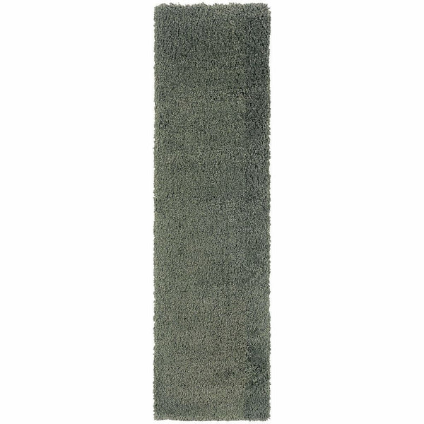 Woven - Loft Blue  Solid  Contemporary Rug