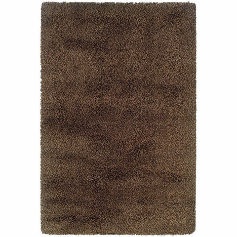 Oriental Weavers Loft Brown Gold Tweed  Contemporary Rug