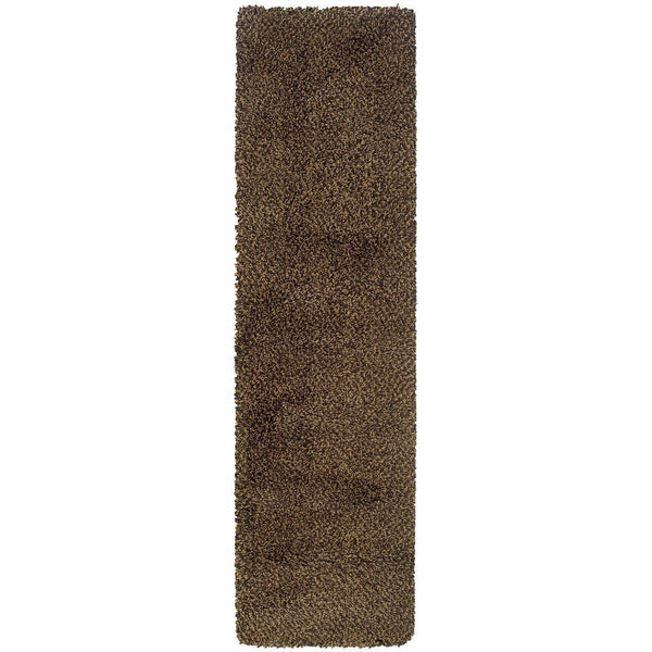 Woven - Loft Brown Gold Tweed  Contemporary Rug