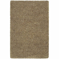 Loft Brown Ivory Tweed  Contemporary Rug - Free Shipping
