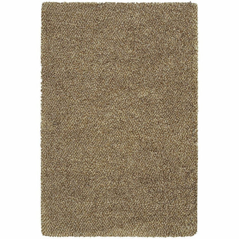 Oriental Weavers Loft Brown Ivory Tweed  Contemporary Rug