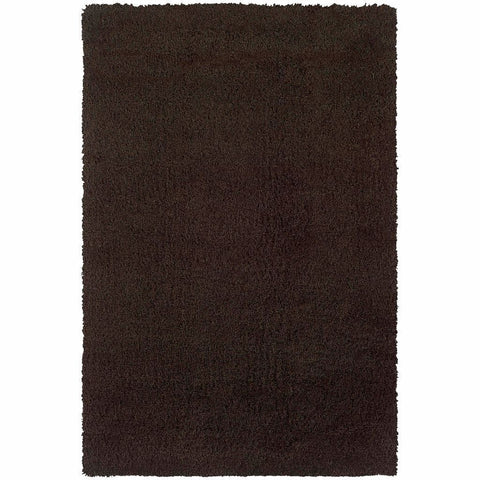 Oriental Weavers Loft Brown  Solid  Contemporary Rug