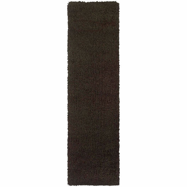 Woven - Loft Brown  Solid  Contemporary Rug