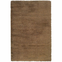 Loft Gold  Solid  Contemporary Rug - Free Shipping
