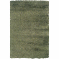 Loft Green Blue Tweed  Contemporary Rug - Free Shipping