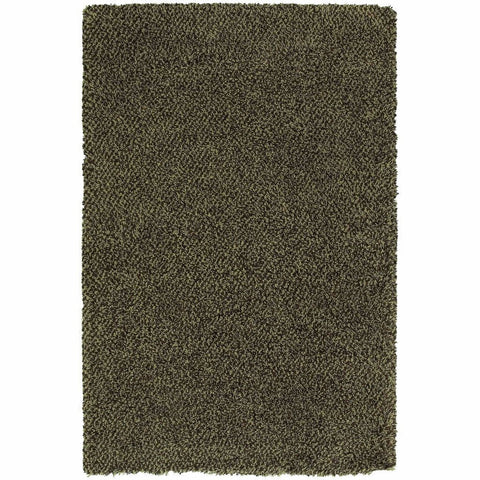 Oriental Weavers Loft Green Brown Tweed  Contemporary Rug