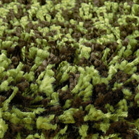 Woven - Loft Green Brown Tweed  Contemporary Rug