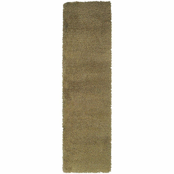 Woven - Loft Green Gold Tweed  Contemporary Rug