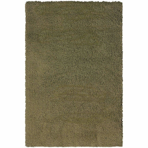 Oriental Weavers Loft Green  Solid  Contemporary Rug