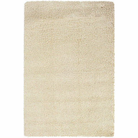 Oriental Weavers Loft Ivory  Solid  Contemporary Rug