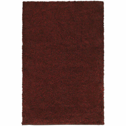 Oriental Weavers Loft Red Brown Tweed  Contemporary Rug