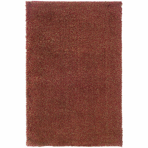 Oriental Weavers Loft Red Gold Tweed  Contemporary Rug