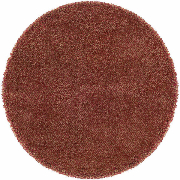 Woven - Loft Red Gold Tweed  Contemporary Rug
