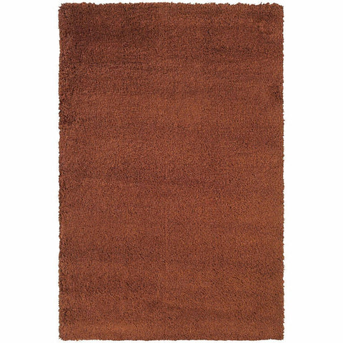 Oriental Weavers Loft Rust Brown Tweed  Contemporary Rug