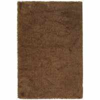 Loft Rust Gold Tweed  Contemporary Rug - Free Shipping