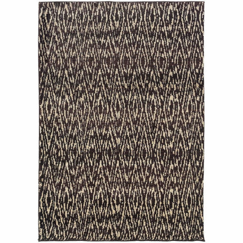 Oriental Weavers Marrakesh Ivory Grey Tribal Ikat Transitional Rug