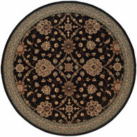 Woven - Nadira Black  Blue Oriental Persian Traditional Rug