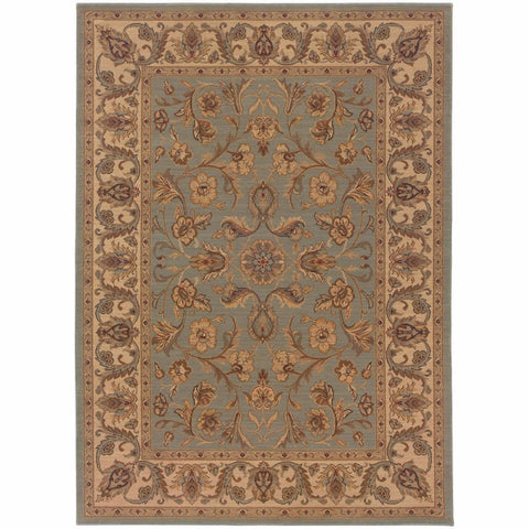 Oriental Weavers Nadira Blue Ivory Oriental Persian Traditional Rug