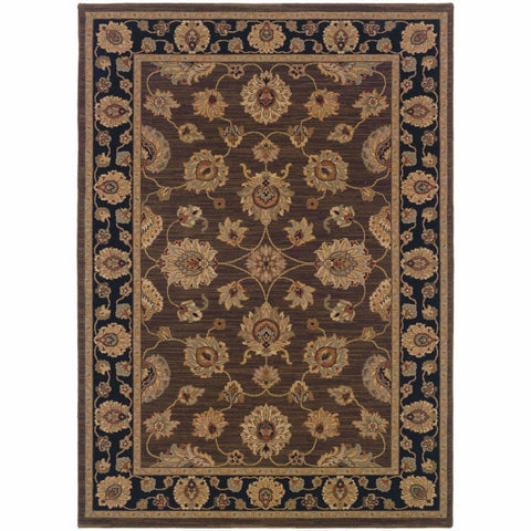 Oriental Weavers Nadira Brown Black Oriental Persian Traditional Rug