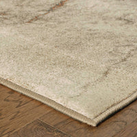 Woven - Pasha Beige Orange Abstract  Contemporary Rug