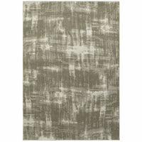 Rowan Grey Ivory Abstract  Contemporary Rug