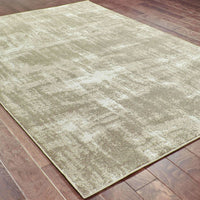 Woven - Rowan Grey Ivory Abstract  Contemporary Rug