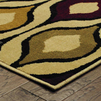 Woven - Stratton Ivory Multi Geometric Odgee Transitional Rug