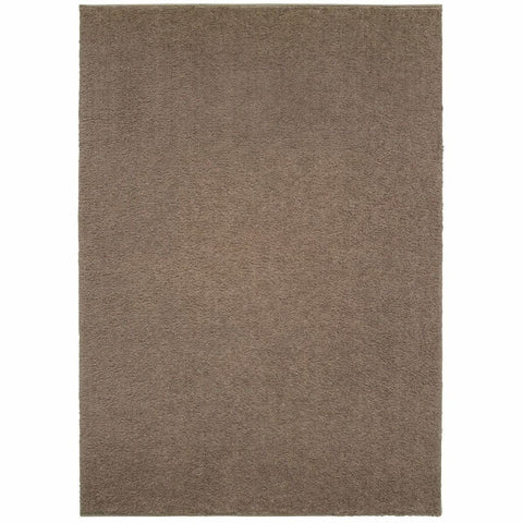 Oriental Weavers Verona Brown Brown Solid Solid Casual Rug