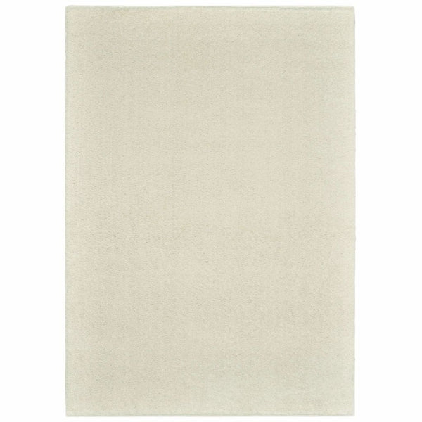 Verona Ivory Ivory Solid Solid Casual Rug - Free Shipping