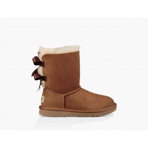 Ugg Kid's Bailey Bow II Chestnut