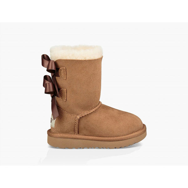 Ugg Toddlers Bailey Bow II Chestnut
