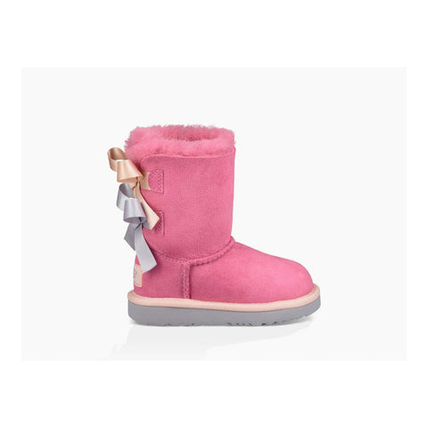 Ugg Toddler Bailey Bow II Pink Azalea