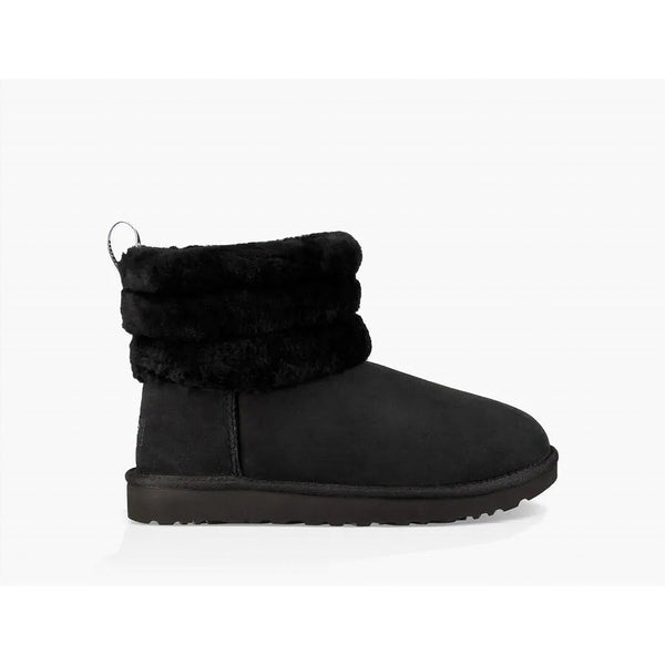 Ugg Women's Fluff Mini Boot Black