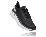 Hoka One One Women's CLIFTON 7 BLK/WHITE