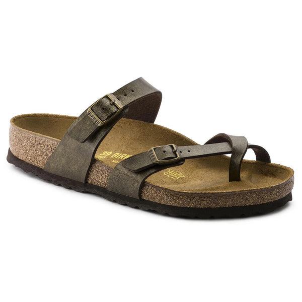 Birkenstock Mayari Golden Brown Birko-Flor