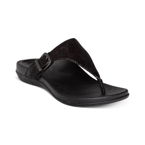 Aetrex Rita Adjustable Thong Sandal