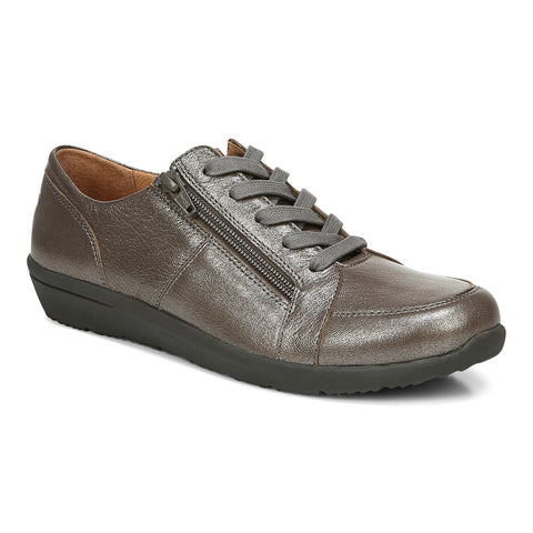 Vionic Abigail Lace Up Pewter